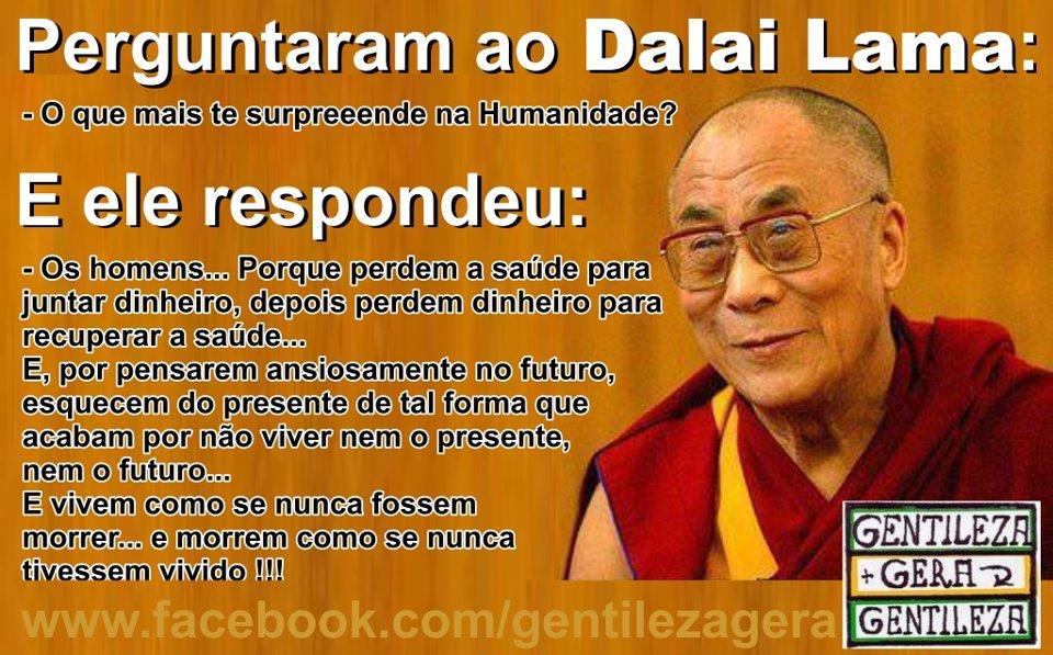 Perguntaram Ao Dalai Lama Dilberto Rosa