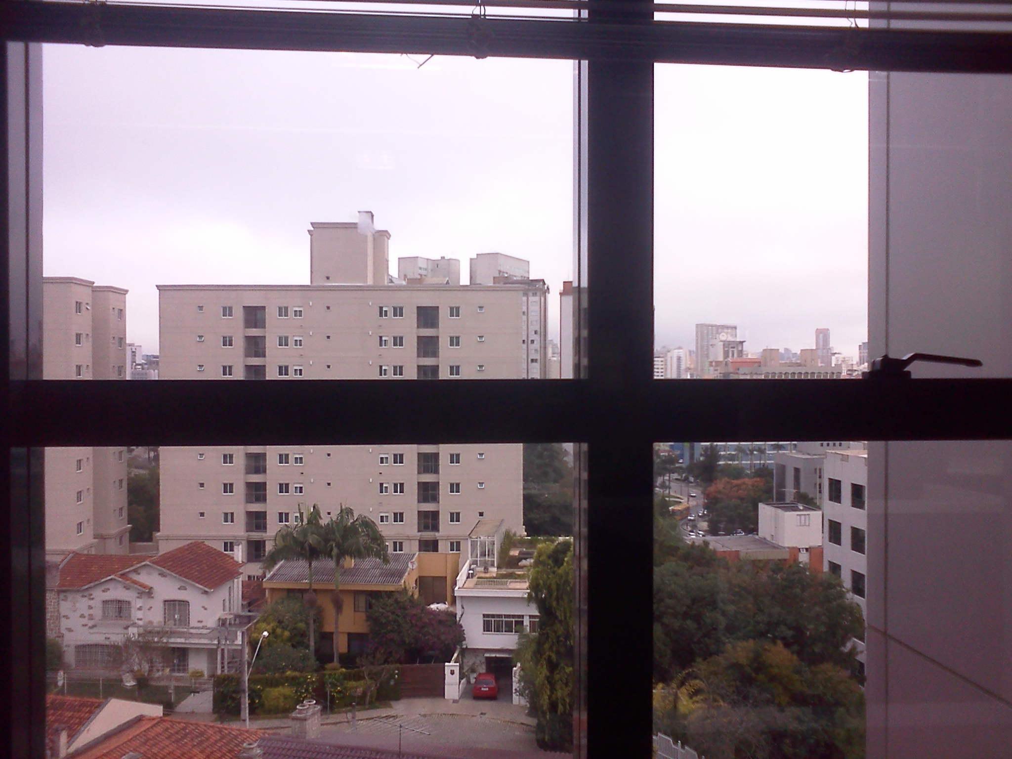Fechou o tempo aqui no centro de Curitiba! - Dilberto Rosa